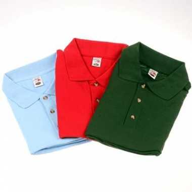 3 grote maten polo shirts 8XL