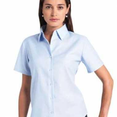 Dames blouse oxford grote maten
