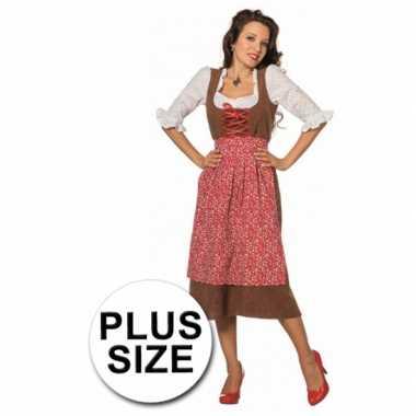 Dames Tiroler jurken in grote maten