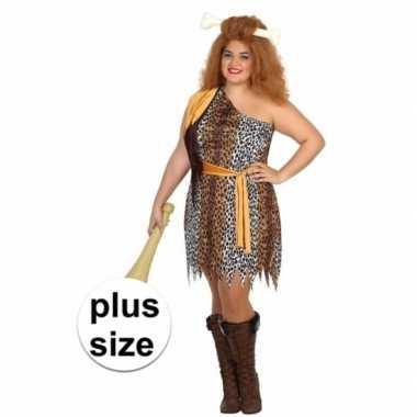 Grote maten big size grotbewoner verkleedkostuum voor dames