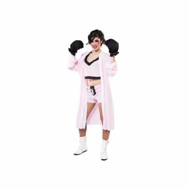 Grote maten boksster verkleedkostuum voor dames