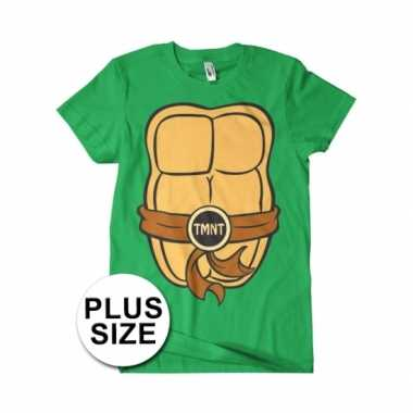 Grote maten fun ninja turtles shirt heren