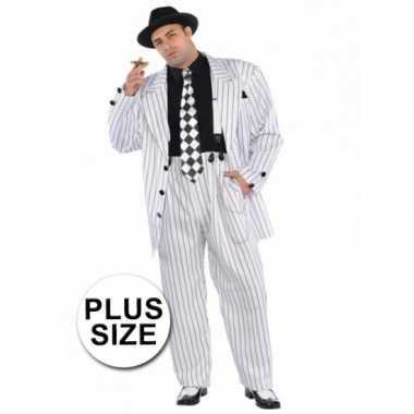 Grote maten gangster maffia kostuums voor heren