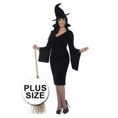 Grote maten heksen kostuum