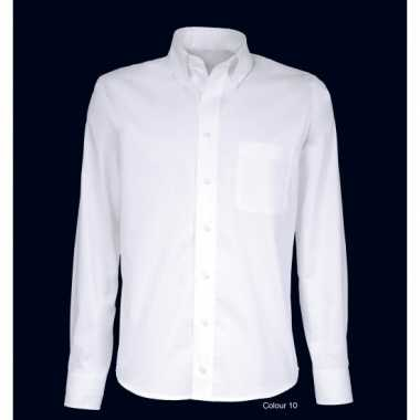 Grote maten heren overhemd button down boord