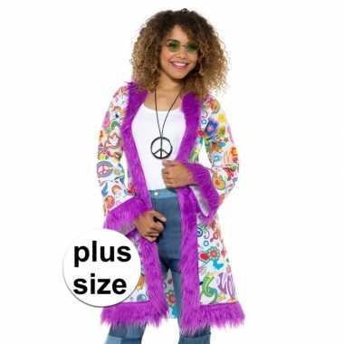 Hippie verkleedkleding grote maten