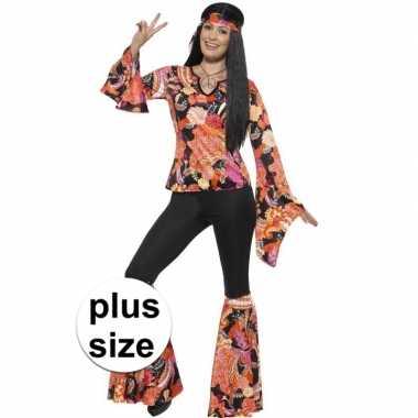 grote maten hippie kostuum willow voor dames | Kleding ...