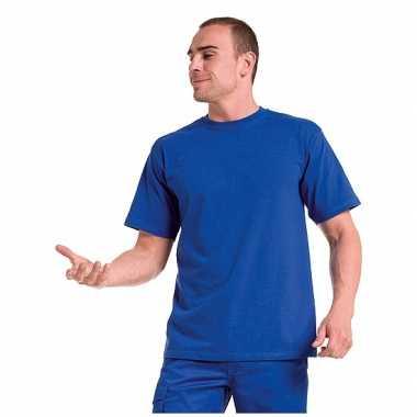 Grote maten maat 4xl heren t-shirts blauw