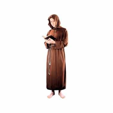 Grote maten monnik abdij outfit voor volwassenen