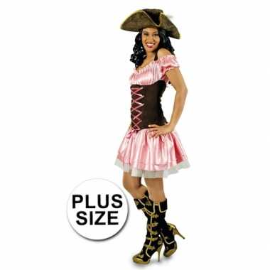 Carnavalskleding Dames Goedkoop.Grote Maten Piraten Kostuum Voor Dames Kleding Grote Maten Nl