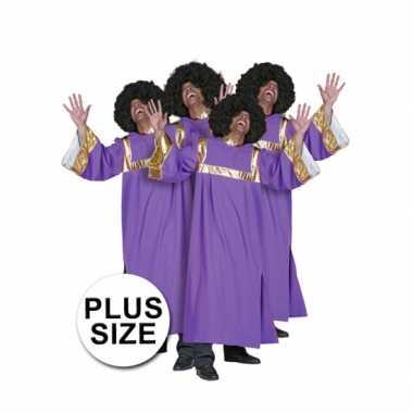 Grote maten  Plus size gospel koor kleding