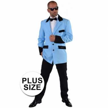 Maten  Gangnam style kostuum grote maat