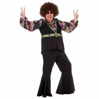 Maten  Grote maat hippie shirt voor heren