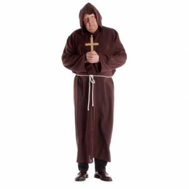 Maten  Klooster kostuum voor volwassenen in een grote maat