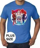 Toppers grote maten blauw toppers in concert 2019 officieel shirt heren 10137578